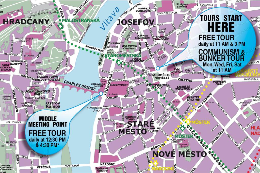 Download map of Prague