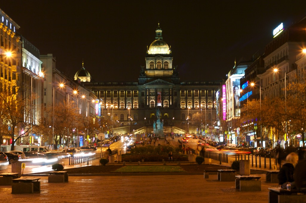 Wenceslas Square in Prague, once the horse market in the time of King Charles IV, is named after the country's patron saint.