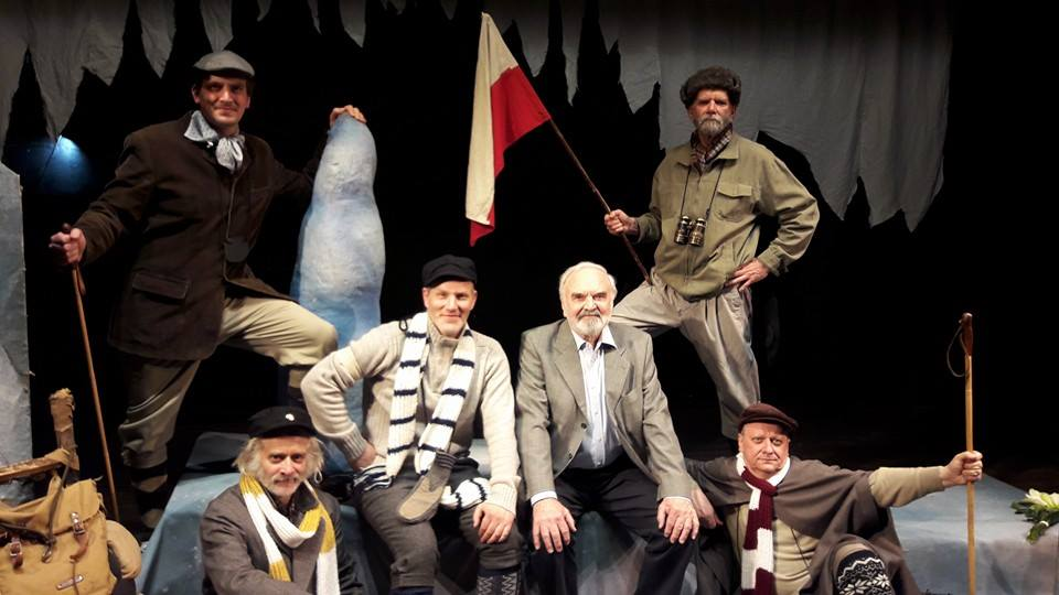 The Conquest Of The North Pole by Cimrman English Theatre.
