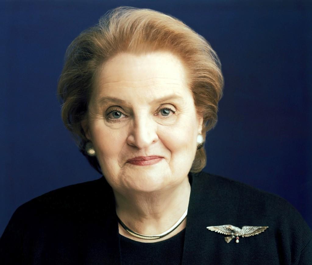 Former U.S. Secretary of State Madeleine Albright was born in Czechoslovakia.