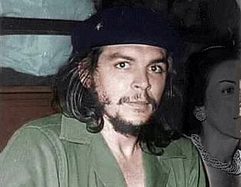 Viva la revolution... Che laid low in Prague before setting out on his final mission to Bolivia where he was killed in 1967.