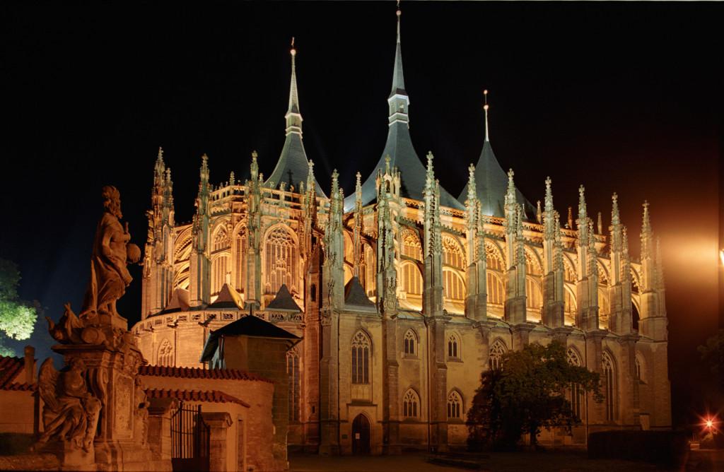 The Church of Saint Barbara.