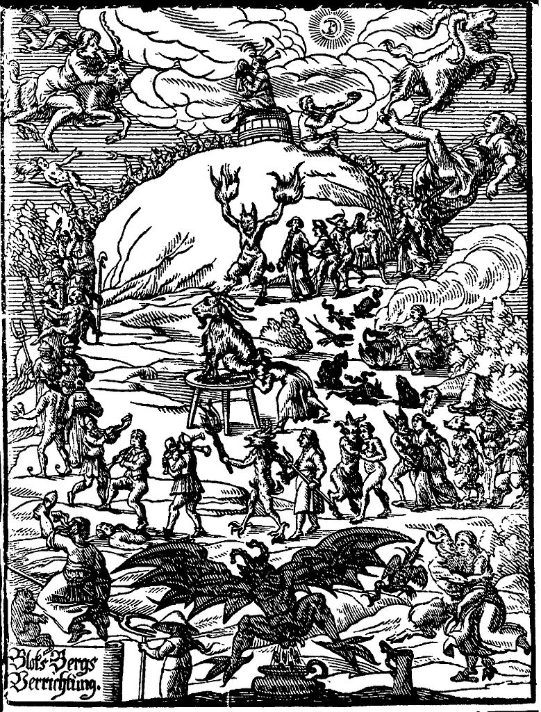 Walpurgis Night, when, according to the belief of millions of people, the devil was abroad - when the graves were opened and the dead came forth and walked. When all evil things of earth and air and water held revel. -Bram Stoker in Dracula's Guest.