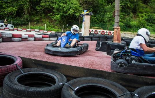 Go Karting in Cesky Krumlov