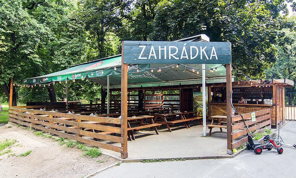 Klamovka beer garden