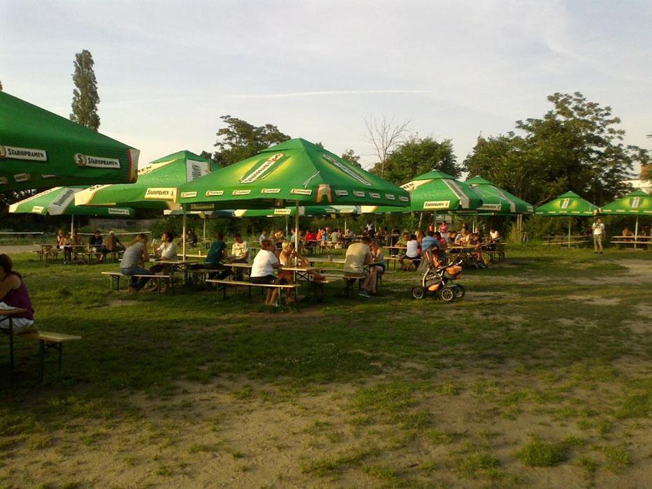 Zizkov beer garden