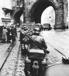Germans occupy Prague, 15.03.1939